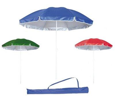 Зонт пляжный садовый с наклоном, диаметр 1,7 м с защитой от UV-лучей