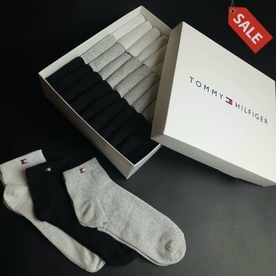 Носки низкие Tommy Hilfiger набор носков мужских из 30 шт