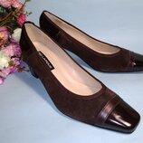 Туфли натуральные ted lapidus франция коричневые 37 38 39