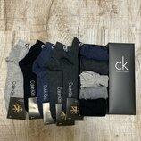 Носки низкие Calvin Klein набор мужских из 5 шт