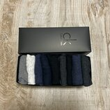 Носки низкие Calvin Klein набор мужских из 9 шт