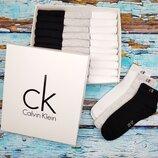 Носки низкие Calvin Klein набор мужских из 30 шт