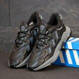 Мужские кроссовки Adidas Ozweego. Black.