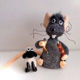 Мышь из Грузии и барашек.Мышка.