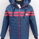 С-23 Размер 134-164 Стильная демисезонная куртка для мальчиков