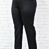 Трикотажные женские брюки супер большого размер Размерный ряд 60, 62, 64, 66, 68, 70,72,74 а с