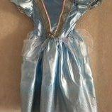 платье шикарное Золушки, принцессы и других от Disney на рост 104 см