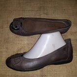 38р-25.5 кожа туфли Tamaris