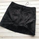 Крутая юбка пони от Zara pазмер M