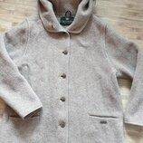 Пальто из альпаки Giesswein. р.40. Австрия. Премиум качество