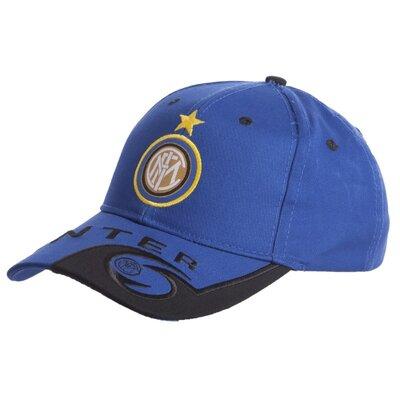 Кепка футбольного клуба Inter 0802 бейсболка Inter сине-желтый