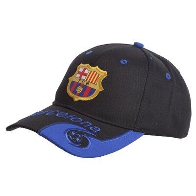 Кепка футбольного клуба Barcelona 0796 бейсболка Barcelona черно-синий