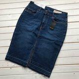 Новая джинсовая юбка карандаш Esmara размер С