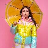 Куртка демисезонная с дождевиком vkd 18 110-140р. 37