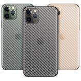 Прозрачная карбоновая наклейка на корпус iPhone 11, 11 Pro, 11 Pro Max