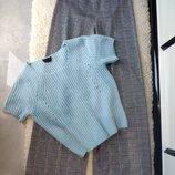Комплект брюки ангоровая кофта S/44