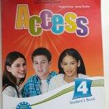 Книга учебник Access 4 students book новая
