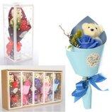 Букет цветов с мишкой MK 3323 Подарок Аксессуары для праздника