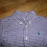 Рубашка Ralph Lauren, оригинал, на 5 лет, Индонезия , 100% коттон, в идеале