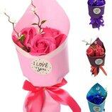 Подарок к празднику Букет цветов MK 3317 Аксессуары для праздника