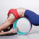Колесо для йоги и фитнеса йога кольцо 32х13см MS 2483