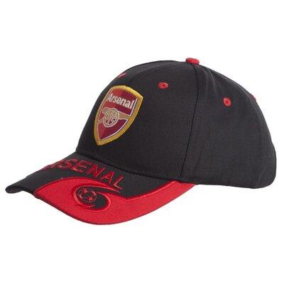Кепка футбольного клуба Arsenal 0795 бейсболка Arsenal черно-красный