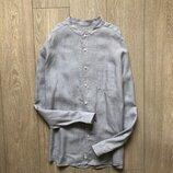 Рубашка 100% лен Marks & Spencer