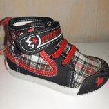 Высокие кеды на мальчика 20,21 р. Super Gear, кеди, хайтопы, кроссовки, кросовки, ботинки