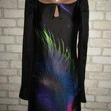 стильное платье р-р XS сост нового бренд Dept