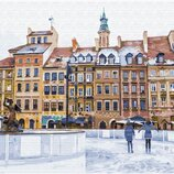 Картина по номерам Рождественская площадь GX33177. Классик. Картины по номерам