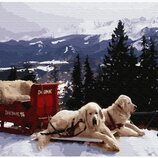 Картина по номерам Рождество в Закопане GX33195. Классик. Картины по номерам