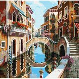 Картина по номерам Улицами Венеции GX7411. Классик. Картины по номерам