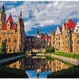Картина по номерам Мошненский замок в Польше GX33175. Классик. Картины по номерам