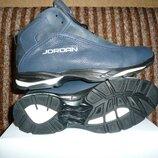 Мужские зимние ботинки JORDAN, зимние ботинки на меху