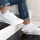 Nike Air Max 1 Ultra Moire кроссовки мужские демисезонные белые 8865