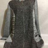 Женские кардиганы туники рубашки для пышных форм размер 52-54, 56-58, 60-62, 64-66.