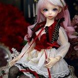 Кукла бжд, шарнирная девочка. Карина. BJD 1/4 кукла. Высота 41 см. Полный комплект. Новая коллекция