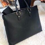 Мужская кожаная сумка портфель Anton Louis Vuitton
