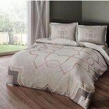 Шикарное двуспальное евро постельное белье TAC, Турция. Качество супер