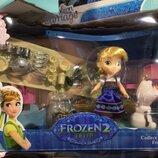 Игровой набор кукла Эльза и Анна с посудкой