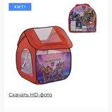 Палатка 8009 Человек паук в асортименте дом тачки детская палатка трансформеры