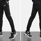 Спортивные лёгкие тренировочные штаны Nike Academy 16 Tracksuit 808757-010 р.46-48S длина 102см.