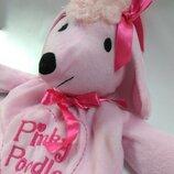 Мягкая игрушка - сумка собака пудель розовый