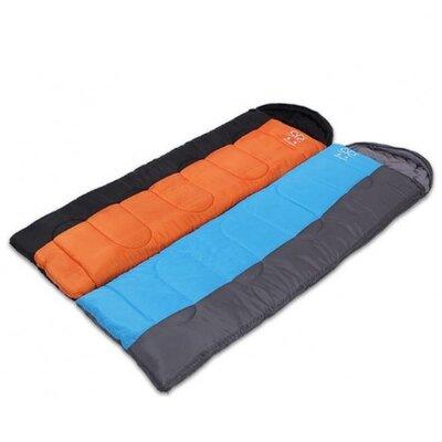 Спальный мешок одеяло с капюшоном 081 спальник размер 190 30х75см, от 10 до -10