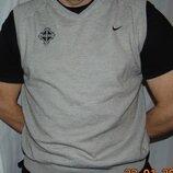 Спортивная оригинальная фирменная кофта свитр.Nike Найк л-хл .