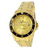 Наручные Часы Rolex Submariner Gold-Black-Gold