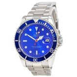 Наручные Часы Rolex Submariner Silver Blue