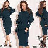 Стильное женское платье 3 цвета