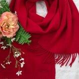 Красный кашемировый шарф из кашемира NAVYBOOT, Германия.