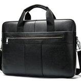 Сумка мужская портфель Дипломат 2 из натуральной кожи модель 2020